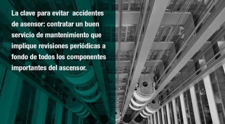 mantenimiento ascensor